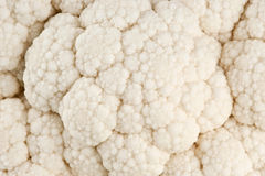 Cauliflower close-up texture Stock Photography