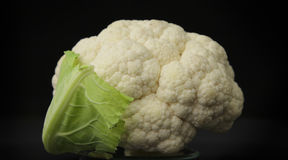 Cauliflower closeup Royalty Free Stock Images
