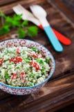 Cauliflower couscous Stock Images