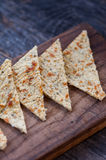 Cauliflower crackers Royalty Free Stock Photography