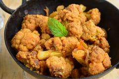 Cauliflower Curry Stock Photography