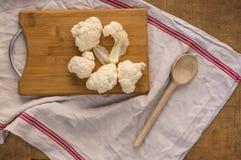 Cauliflower florets Stock Image