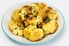 Cauliflower Fried in Batter. Studio Photo Stock Photo