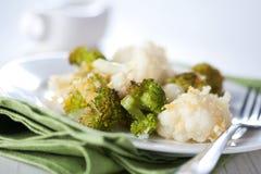 Cauliflower Gratin Royalty Free Stock Images