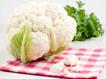Cauliflower head with florets Royalty Free Stock Photography