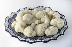 Cauliflower. Ideal vegetable for diets because of its low calorie content Stock Photography