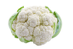Cauliflower isolated Stock Photo