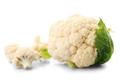 Cauliflower isolated Royalty Free Stock Photos