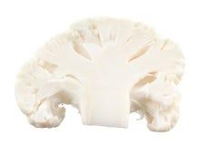 Cauliflower isolated. Cauliflower on a white background Stock Photography