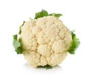 Cauliflower. Isolated on white background Royalty Free Stock Images