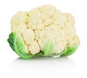 Cauliflower isolated on white background Royalty Free Stock Image