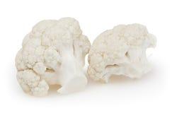 Cauliflower isolated on white background Stock Photos