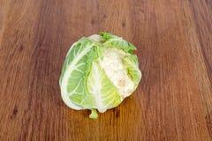 Cauliflower isolated on white background. Nourishing and vitamin vegetables - cauliflower. Cauliflower isolated on white background. Nourishing and vitamin Royalty Free Stock Images