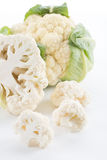 Cauliflower with leaves Royalty Free Stock Image