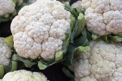 Cauliflower on market Royalty Free Stock Image