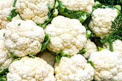 Cauliflower market Royalty Free Stock Photography
