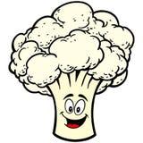 Cauliflower Mascot Stock Photos