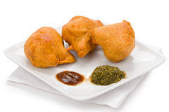 Cauliflower Pakora Royalty Free Stock Photos