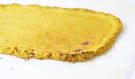 Cauliflower pizza crust Stock Photos
