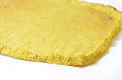 Cauliflower pizza crust Royalty Free Stock Image