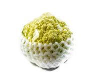 Cauliflower with plastic Royalty Free Stock Photography