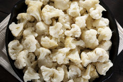 Cauliflower Ready To Cook Royalty Free Stock Images