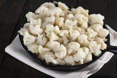Cauliflower ready to cook Stock Photos