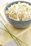Cauliflower rice. Ketogenic and paleo food. stock photo