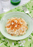 Cauliflower Risotto with crumbs Royalty Free Stock Photos