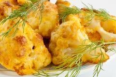Cauliflower Roast Royalty Free Stock Photos