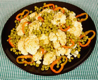 Cauliflower salad Royalty Free Stock Photography