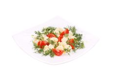 Cauliflower salad. Stock Photo