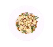 Cauliflower salad. Royalty Free Stock Photography