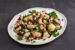 Cauliflower Salad Royalty Free Stock Photo