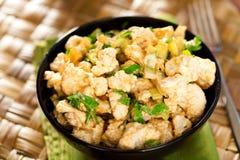 Cauliflower salad Stock Photography