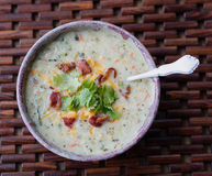 Cauliflower Soup Royalty Free Stock Photography