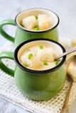 Cauliflower soup Royalty Free Stock Photos