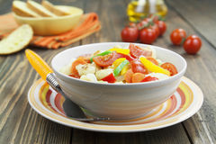 Cauliflower stewed with vegetables Stock Photography