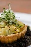 Cauliflower Tart Stock Image