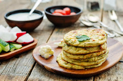 Cauliflower tortillas mini Royalty Free Stock Photos