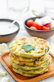 Cauliflower tortillas mini Royalty Free Stock Photography