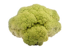 Cauliflower vegetable cut out Stock Photos