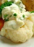 Cauliflower And White Sauce Stock Images