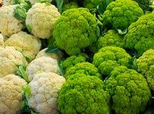 Cauliflowers Stock Photo
