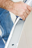 Caulking Closeup Royalty Free Stock Photos