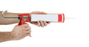 Caulking gun Royalty Free Stock Photo