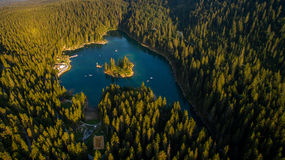 Caumasee στην Ελβετία Στοκ φωτογραφία με δικαίωμα ελεύθερης χρήσης