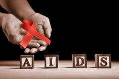 Causa do AIDS imagens de stock royalty free