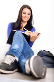 Causal high school student Royalty Free Stock Images