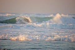 Causar um crash das ondas Foto de Stock Royalty Free